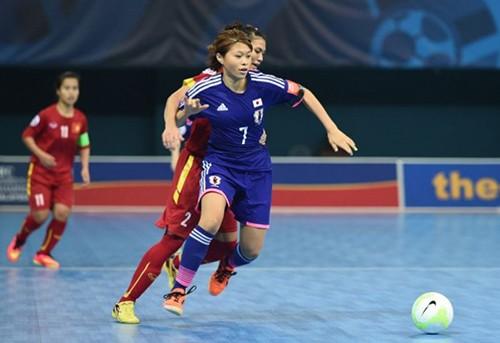 Giải vô địch Futsal: Việt Nam thua Nhật Bản 2-4