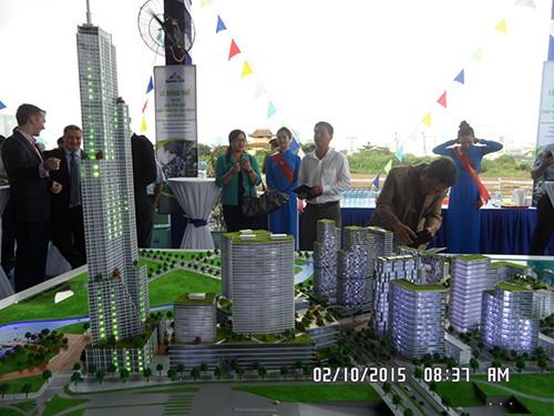 Khởi công dự án 86 tầng ở Thủ Thiêm