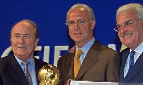 Đức dính nghi án 'mua phiếu' để đăng cai World Cup 2006