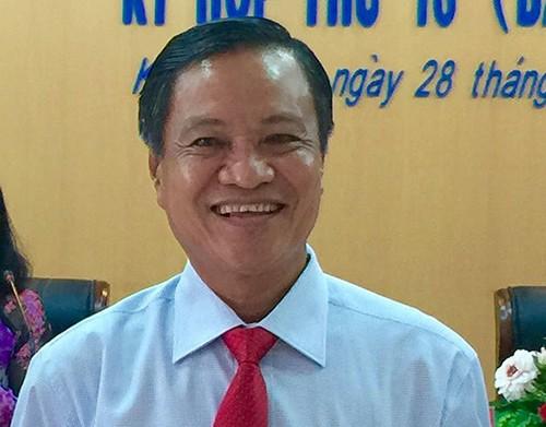 Kiên Giang có chủ tịch mới
