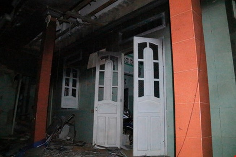 Thu giữ đoạn dây cháy chậm trong vụ nổ ở Phú Quý