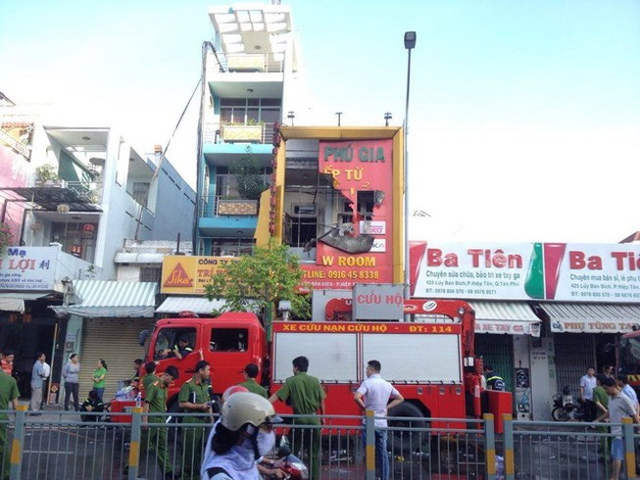 Đã xác định danh tính 4 người thiệt mạng trong vụ cháy