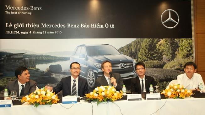 Mercedes Benz tham gia thị trường bảo hiểm ô tô