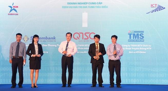 Sacombank nhận giải thưởng Công nghệ thông tin-Truyền thông