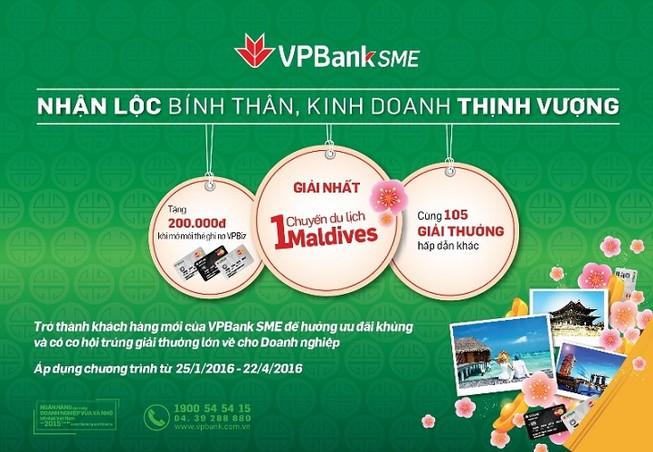 VPBank tặng cơ hội du lịch Maldives cho khách hàng