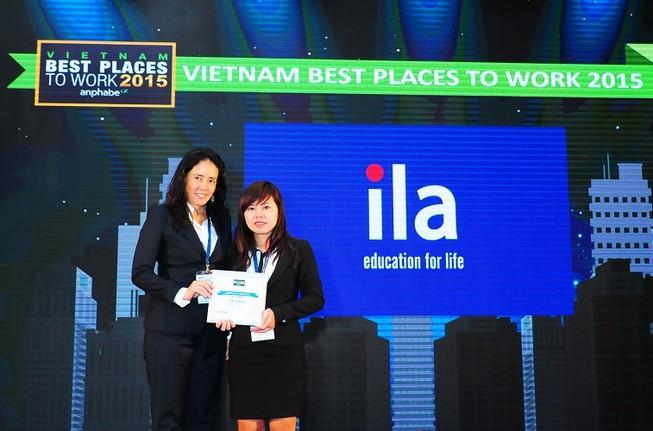 ILA lọt vào danh sách 100 Nơi làm việc tốt nhất Việt Nam
