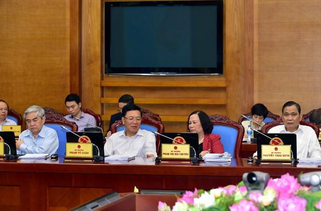 Chính phủ nhất trí kiến nghị Quốc hội sửa Điều 60 Luật BHXH 2014