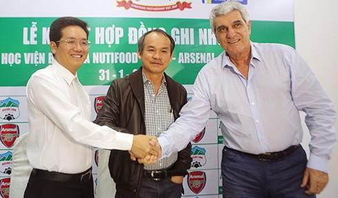 Học viện bóng đá NutiFood – HAGL được xây dựng tại TP HCM