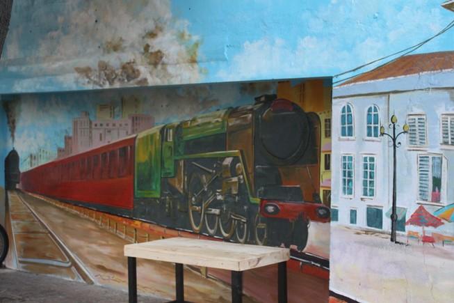 Ấn tượng Graffiti giữa Sài Gòn