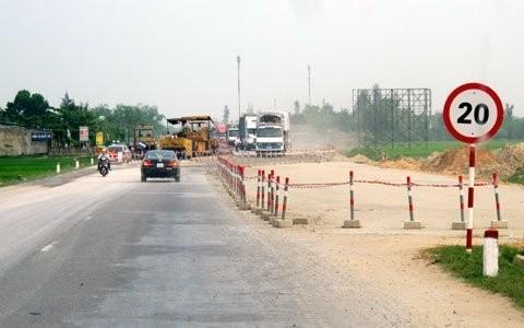 Trước ngày 30-5, các tỉnh phải giao mặt bằng cho Dự án mở rộng Quốc lộ 1