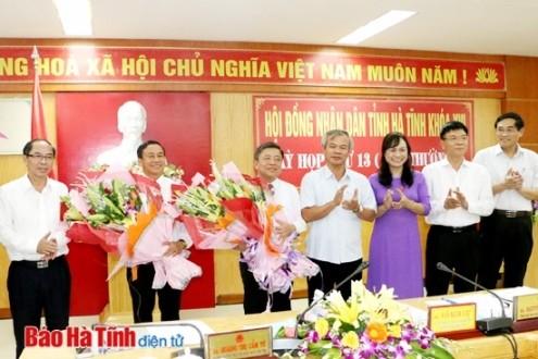 Thủ tướng phê chuẩn nhân sự tỉnh Hà Tĩnh