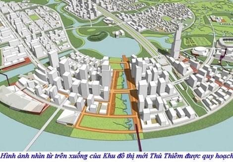 TPHCM chỉ đạo giải quyết tái định cư dự án Khu đô thị mới Thủ Thiêm