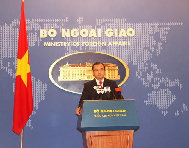 'Trung Quốc chấm dứt ngay hoạt động xây dựng trên quần đảo Hoàng Sa và Trường Sa'