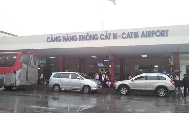 Sân bay Cát Bi đã hoạt động trở lại