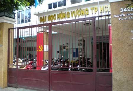 Trường ĐH Hùng Vương chưa được tuyển sinh trở lại