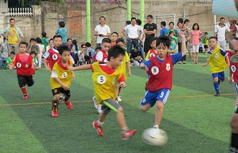 Amitie, bóng đá cộng đồng của Nhật 'nhập hộ khẩu' vào Việt Nam
