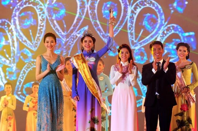 Nguyễn Thị Lê Nam Em đăng quang hoa khôi ĐBSCL 2015