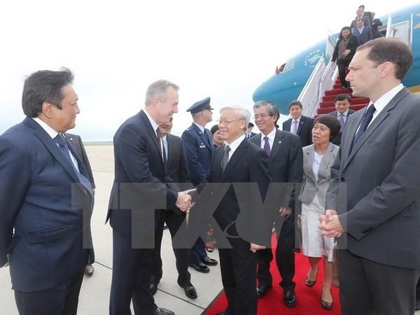 Tổng Bí thư Nguyễn Phú Trọng tiếp Đại diện Thương mại Hoa Kỳ