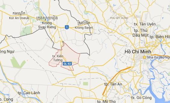 Thực địa tại khu vực xảy ra vụ xô xát ở biên giới Việt Nam - Campuchia