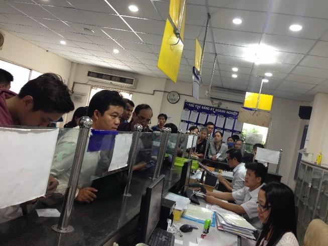 Doanh nghiệp mới tăng vọt khi áp dụng Luật Doanh nghiệp 2014
