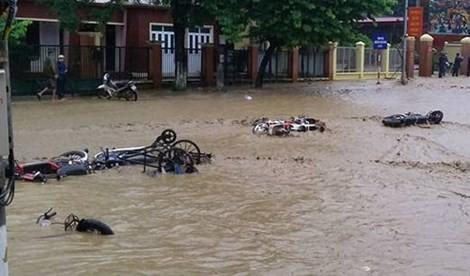 Cảnh báo lở đất, úng ngập tại Quảng Ninh, Bắc Giang, Lạng Sơn