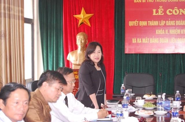 Thành lập Đảng đoàn Liên đoàn luật sư Việt Nam