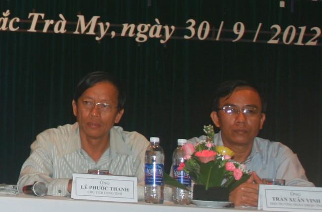Bộ Chính trị đồng ý cho ông Lê Phước Thanh thôi chức Bí thư Tỉnh ủy Quảng Nam