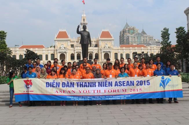 Diễn đàn Thanh niên ASEAN kết thúc chuỗi hoạt động tại TP.HCM