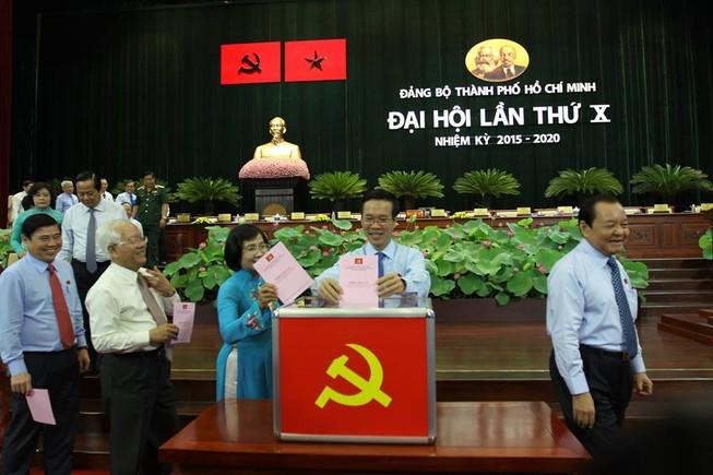 Bầu 69 thành viên vào Ban Chấp hành Đảng bộ TP.HCM khóa X