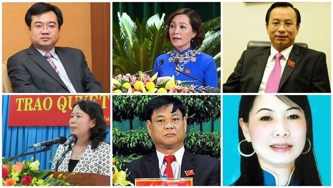 Danh sách 61 bí thư tỉnh, thành phố nhiệm kỳ 2015 - 2020
