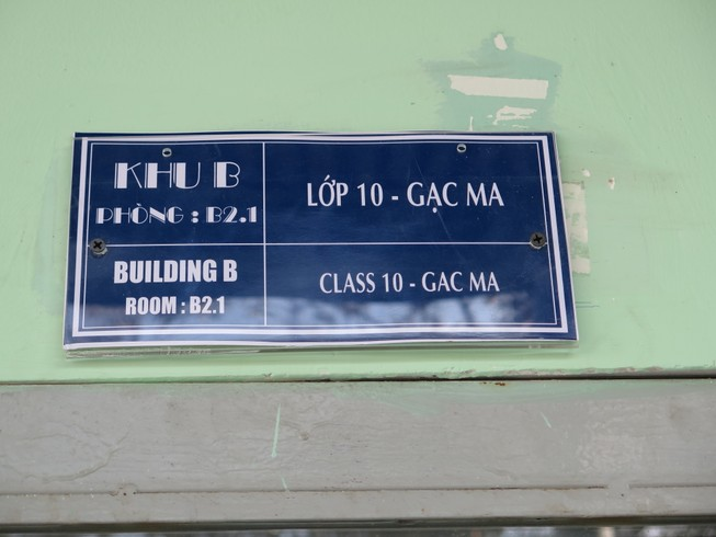 Độc đáo: Lớp học được đặt theo tên các hòn đảo của Việt Nam