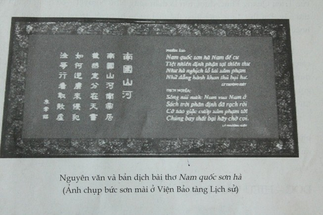 Về bài thơ Nam quốc sơn hà: Tổng chủ biên sách ngữ văn lớp 7 lên tiếng