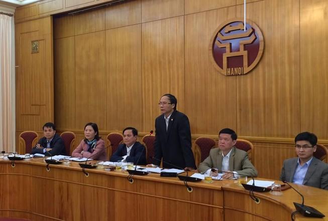 Ông Nguyễn Thế Thảo xin thôi chức chủ tịch Hà Nội