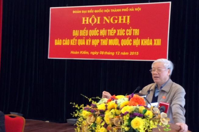'Trung ương trăn trở về sự suy thoái của một bộ phận trong Đảng'