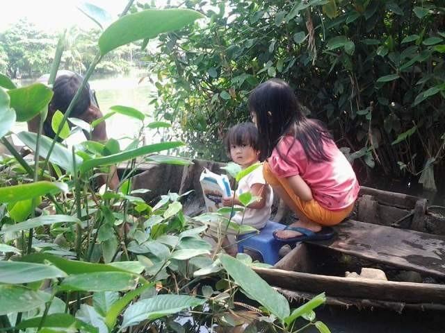 Chuyện bé Dẻo ở cù lao Cỏ giữa sông Đồng Nai