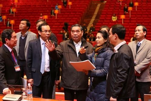 Tổng kiểm tra công tác phục vụ đại hội XII của Đảng