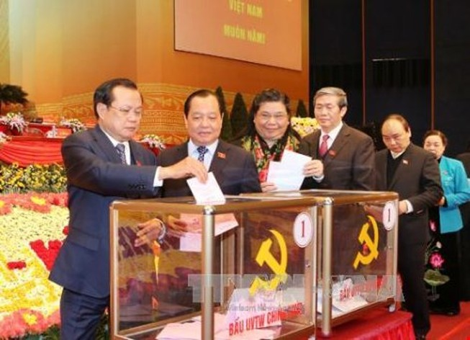 Các Ủy viên Trung ương của TP.HCM và Hà Nội