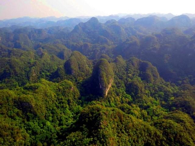 Chùm ảnh: Đất đẹp Quảng Bình vào phim bom tấn Hollywood