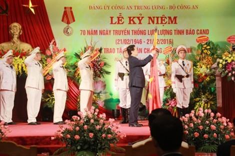 Lực lượng tình báo CAND lần thứ ba đón nhận huân chương Hồ Chí Minh
