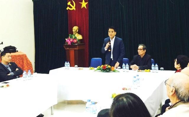 Chủ tịch Hà Nội đặt hàng nhân sĩ, trí thức đóng góp xây dựng thủ đô