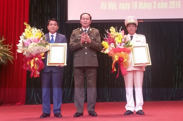 Trợ lý Bộ trưởng Trần Đại Quang làm Giám đốc Công an TP Hà Nội