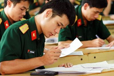 Công bố chỉ tiêu tuyển sinh các trường quân đội