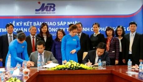 Công ty Cổ phần Tài chính Sông Đà sáp nhập vào MB