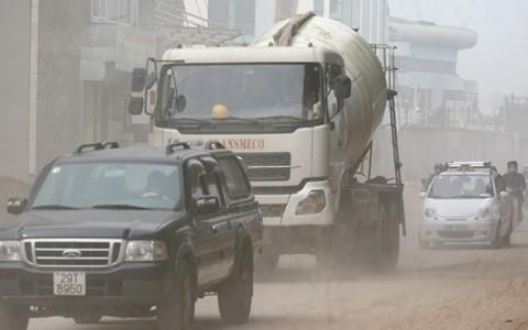 Không khí Hà Nội ô nhiễm ở mức cảnh báo da cam ảnh hưởng sức khỏe