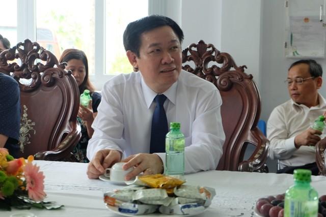 Thăm Khu Công nghệ cao, Phó Thủ tướng đặt ra 3 vấn đề