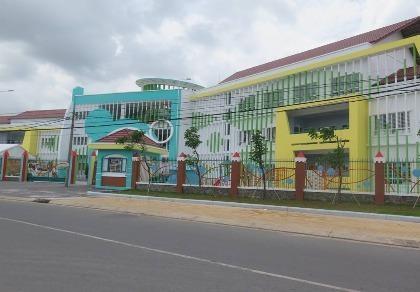 Thêm hai trường mầm non cho con em của công nhân tại khu chế xuất