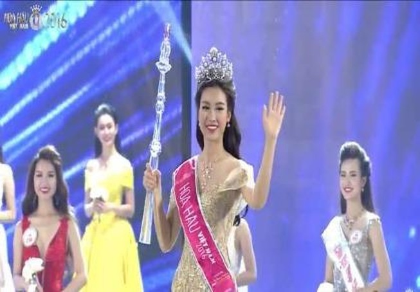 Trực tiếp: Đỗ Mỹ Linh đăng quang Hoa hậu Việt Nam 2016