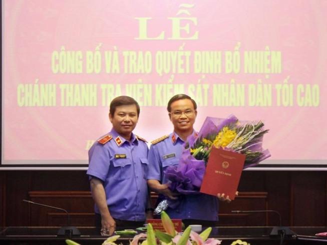 Thư kí ông Nguyễn Bá Thanh làm Chánh Thanh tra VKSNDTC