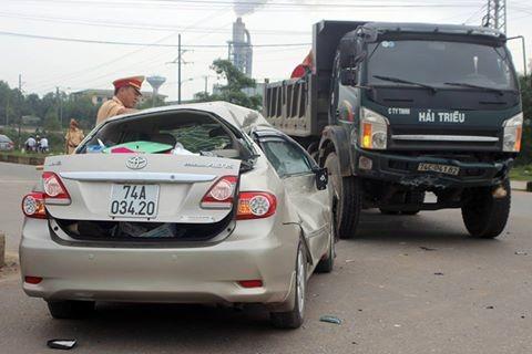 Chủ nhiệm Ủy ban kiểm tra Tỉnh ủy Quảng Trị gặp tai nạn