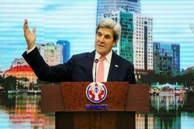Ngoại trưởng Mỹ nói chuyện cùng thủ lĩnh trẻ Đông Nam Á
